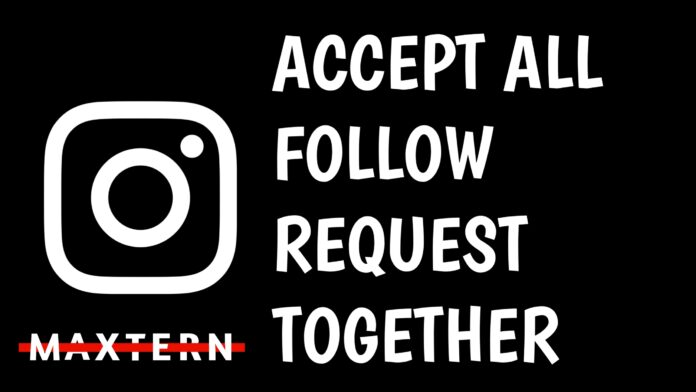 How To Accept all Instagram Pending Followers Request at Once | Accept All Pending Follow Requests Together